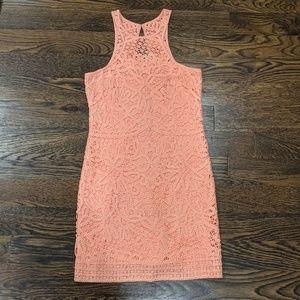 Lilly Pulitzer Orange Crochet Dress XS